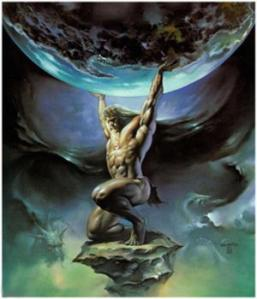 Atlas_and_the_earth